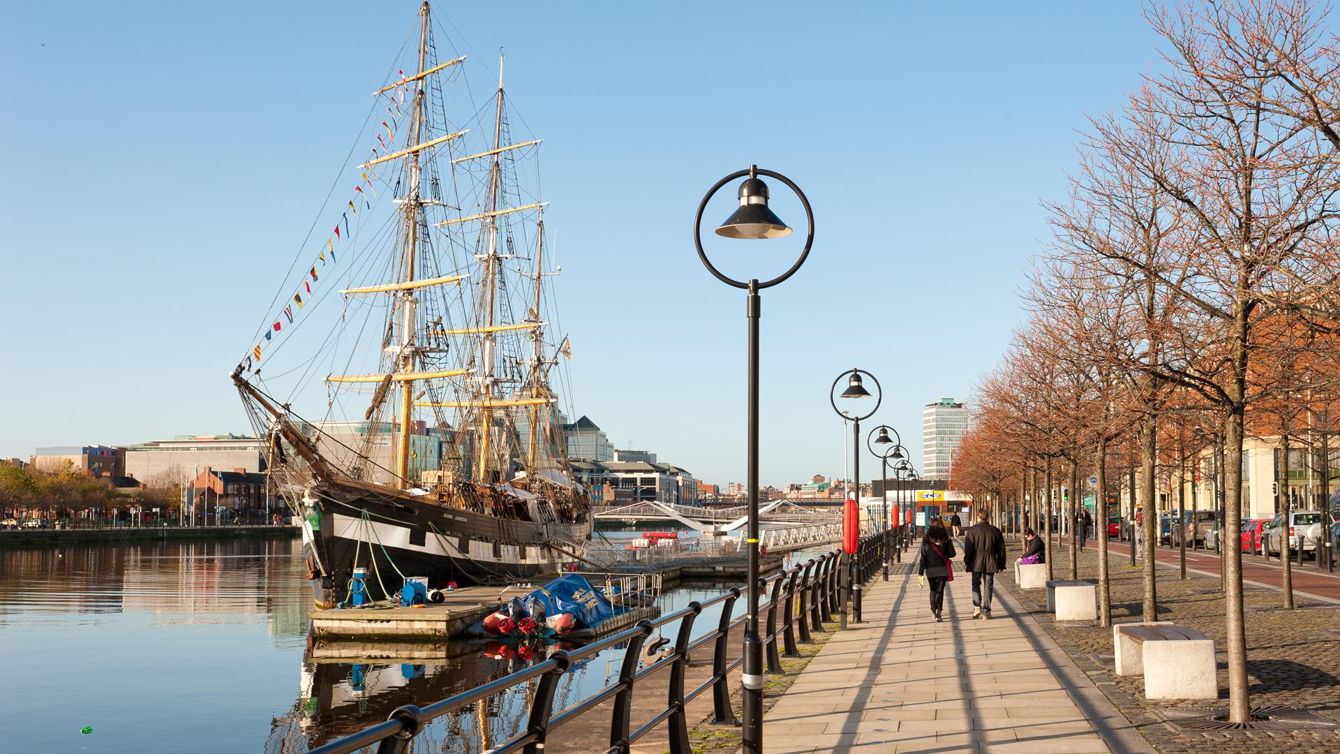 Dublin's north quays have been rejuvenated in recent years