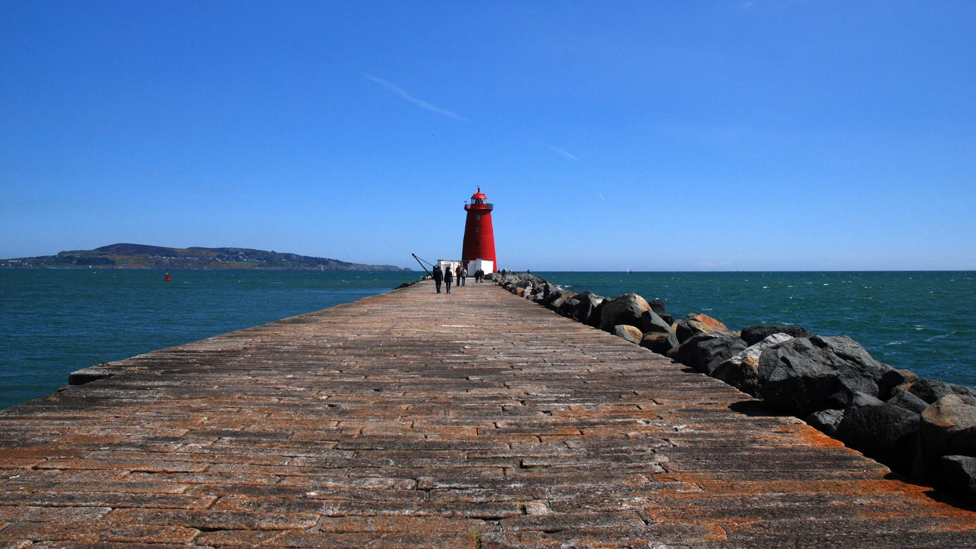 Poolbeg Lighthouse, one of many scenic walks in the area