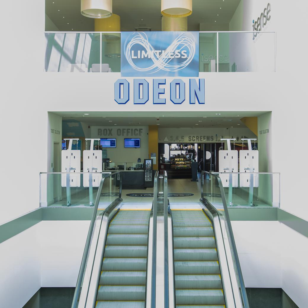 The Odeon Cinema, Hotels, Restaurants and cafés all on the doorstep
